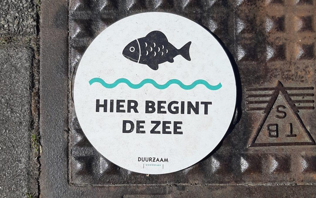 Hier begint de zee – Duurzaam Oosterpark