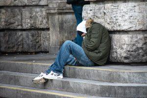 jongere op straat