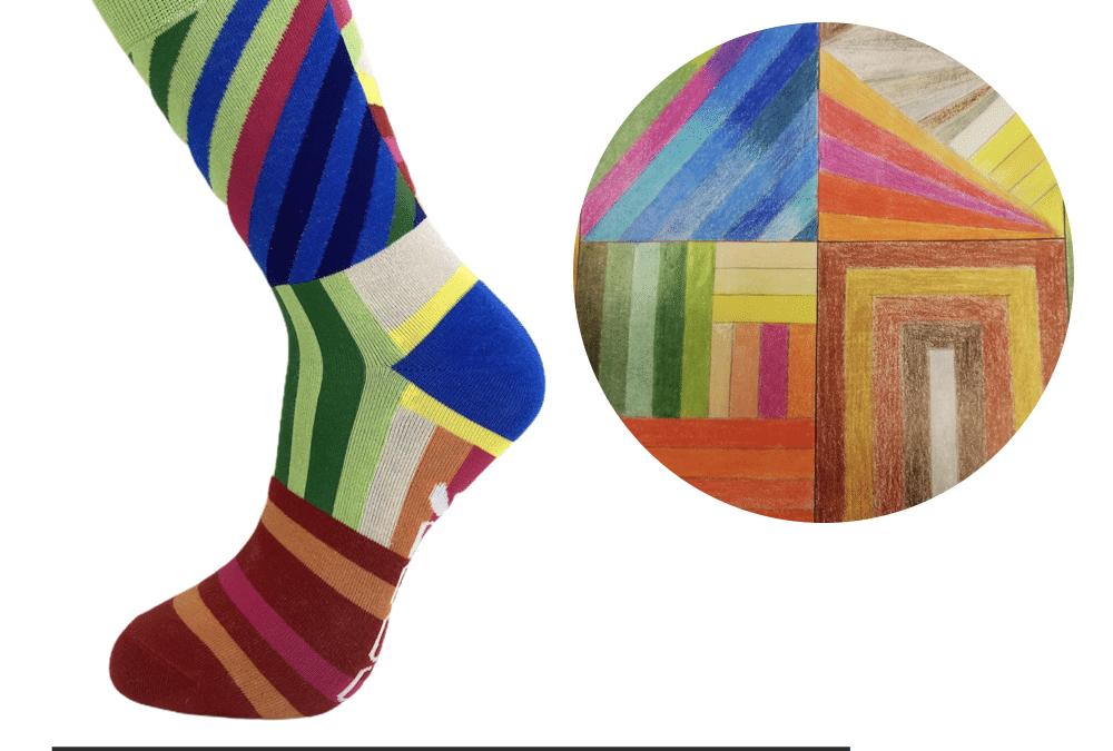 Kunstenaar uit Groningen ontwerpt sokken voor Let's do Goods!